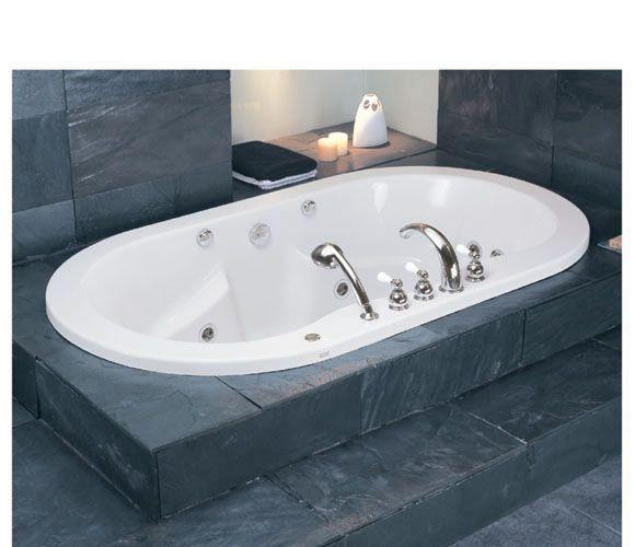 美标无裙按摩浴缸带龙头隆德系列CT-68A8.015CT-68A8.015