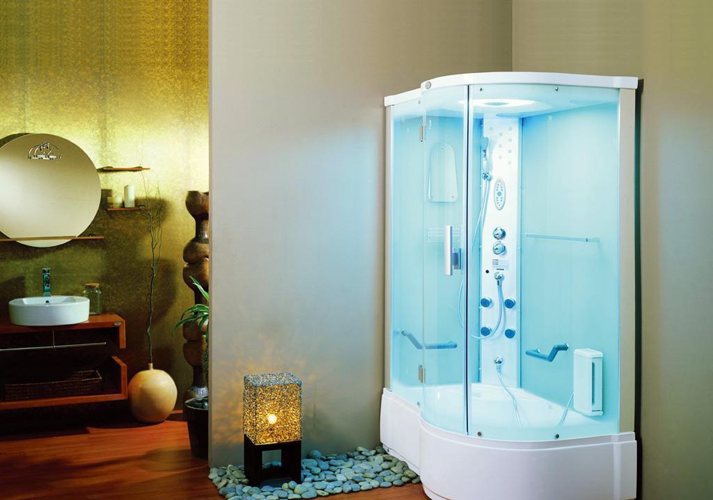 英皇带缸单人整体淋浴房EF011L(法国绿)EF011L(法国绿)