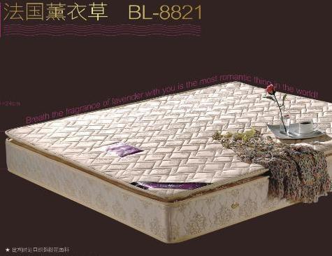 蜜月岛纯天然熏衣草DL-8821床垫