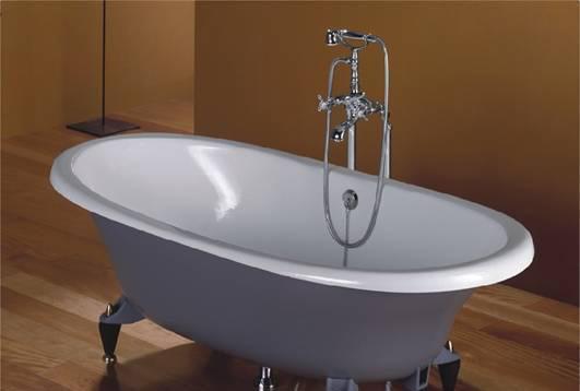 乐家卫浴纽凯古典型浴缸连脚架2-336A0..12-336A0..1