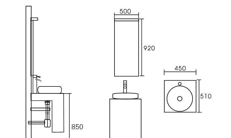 英皇浴室柜CR-1064CR-1064