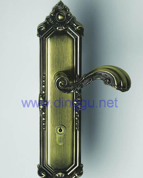 顶固A31-8969AB锌合金欧式豪华插芯锁A31-8969AB