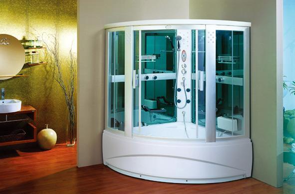 英皇带缸单人整体淋浴房EF009EF009