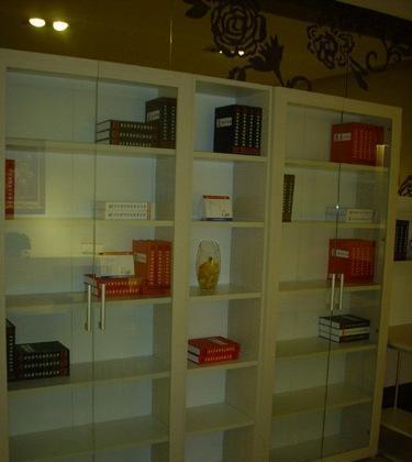 强力书房家具-四门书柜SHG004SHG004