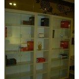 强力书房家具-四门书柜SHG004
