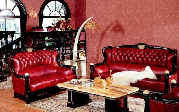 麦格威欧式HM-011沙发(1+2+3)HM-011