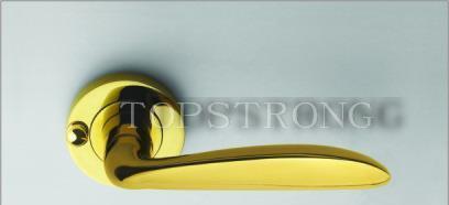 顶固通道锁高强合金卫浴锁ETG7101PVDETG7101PVD