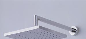 科马墙装方形单速花洒DC2-22073142207314