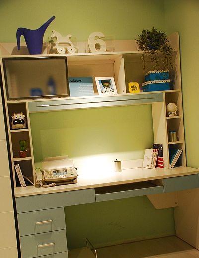 多喜爱儿童家具电脑桌组合书桌8M24+8V098M24+8V09
