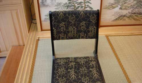 艺唐和室榻榻米古典字折叠椅YT05