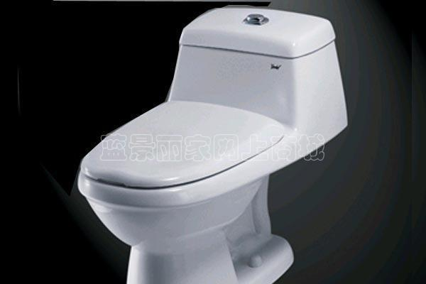 吉事多-蒂芬妮加长连体座厕(305、400mm)GPB-86GPB-8613-WW-HT