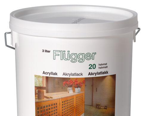 福乐阁水性木器清漆(20)Flügger Acrylic Lac..