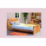 爱心城堡儿童床苹果J015-BD1-NR