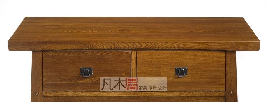 凡木居简约日式系列A3032两抽电视柜A3032