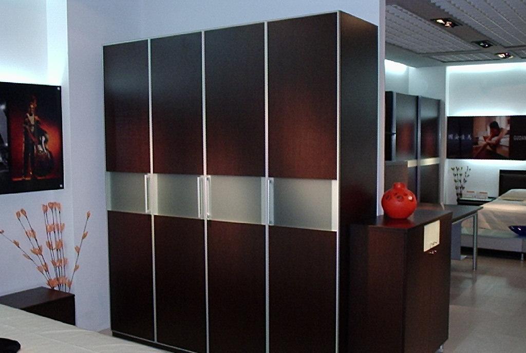国安佳美衣柜 黑橡系列31A48(08+10)+A48M06A48(08+10)+A48M06