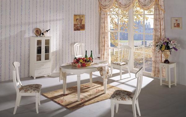 七彩年华欧乐雅餐桌(1380*950*760mm)欧乐雅