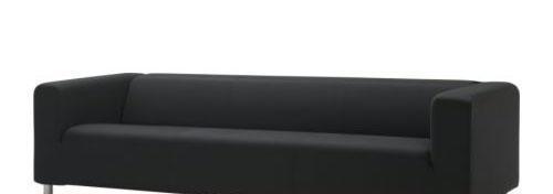 宜家克利帕(格雷纳 黑色)四人沙发