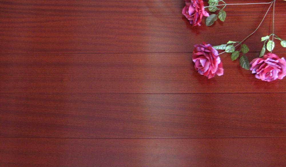 生活家巴洛克系列沙比利实木复合地板沙比利