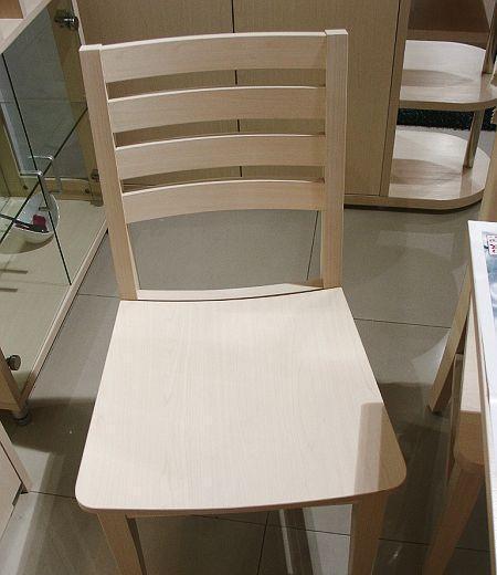 诺捷餐厅家具餐椅450*500*800白枫(凹型)