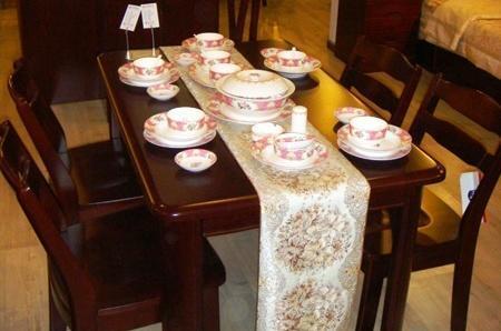 光明实木餐厅家具系列-086餐桌086-4102--128086-4102--128