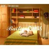 百丽居BN-A10竖条儿童床
