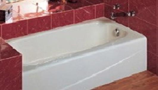 乐家卫浴埃达有裙边防滑底浴缸2-32350..0(右裙)2-32350..0