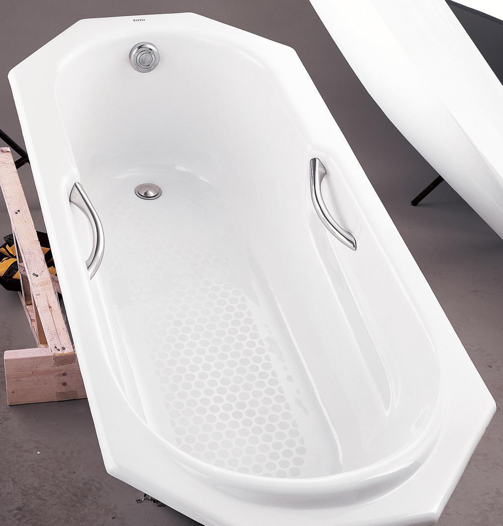 TOTO铸铁浴缸FBY1720CHP-FBY1620CHPFBY1720CHP-FBY1620CH.