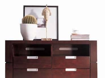 美凯斯卧室家具写意东方系列M-C102T卧室电视柜M-C102T