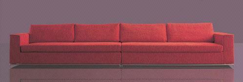 北山家居客厅家具多人沙发1SC040CD1SC040CD