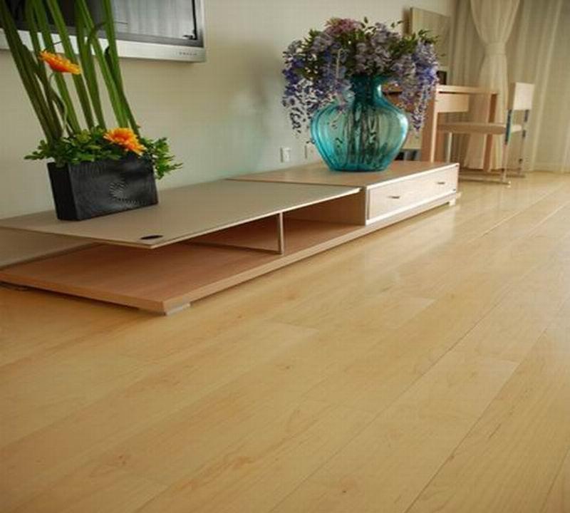 康辉实木复合地板和谐自然系列硬槭木
