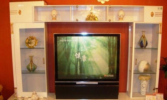 家具-双虎B802-2800*600*2010厅柜B802