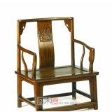 凡木居现代中式系列A2001矮南官帽椅(藤面)CT0