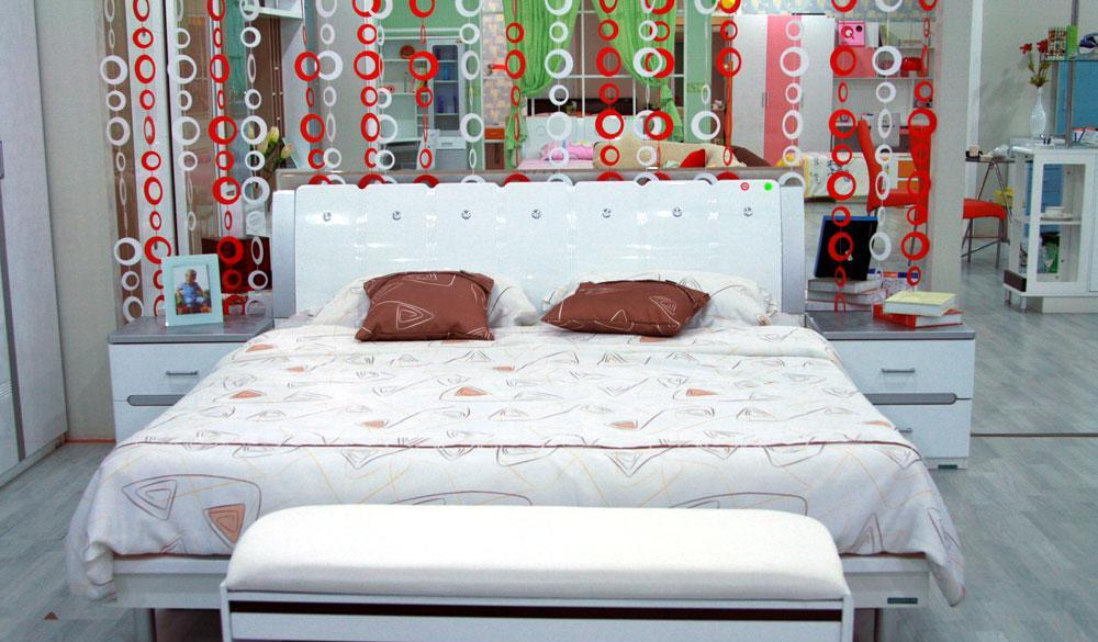 全友人造板床白银时代系列8260782607