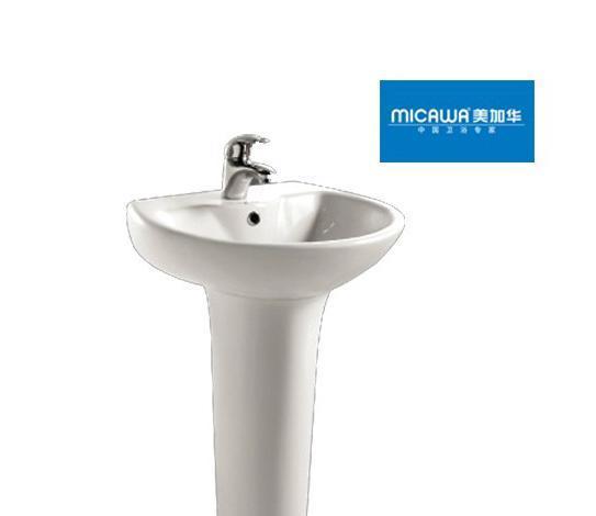 美加华M-3808/9805柱盆(椭圆形设计)3808/9805