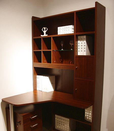 诺捷儿童家具儿童电脑桌8E502-L花梨木色8E502-L