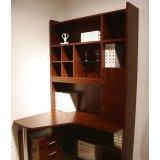 诺捷儿童家具儿童电脑桌8E502-L花梨木色