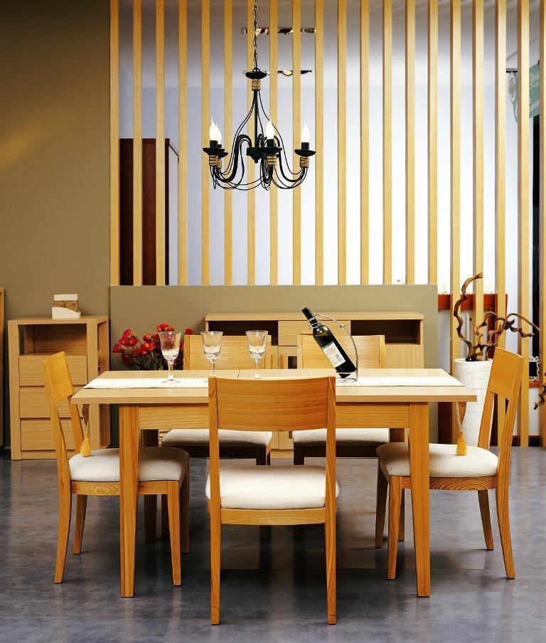 华源轩- 餐厅家具-白橡系列-餐椅-DC702DC702