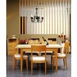 华源轩- 餐厅家具-白橡系列-餐椅-DC702