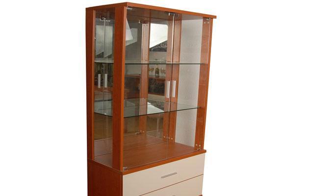 奥格美国红樱桃色系列A02双门酒柜A02双门酒柜