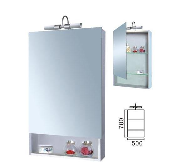 派尔沃浴室柜(镜柜)-M1116(500*760*126MM)M1116