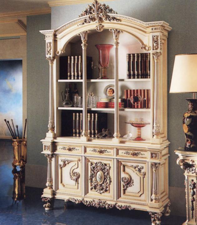罗浮居书柜意大利SILIK家具F1-43-015-D23F1-43-015-D23