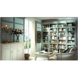 瑞时帕斯卡新古典书柜-实木油漆
