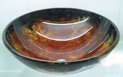 古亚单层玻璃盆D752