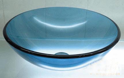 古亚单层玻璃盆D262