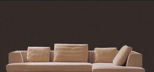 北山家居客厅家具转角沙发1SD815AD1SD815AD