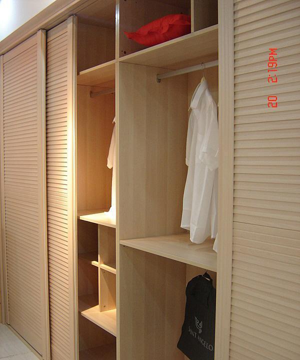 丹麦风情衣柜大卫系列红枫木红枫木