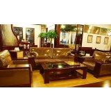 国盛客厅家具君悦1+1+3沙发(含大小茶几)
