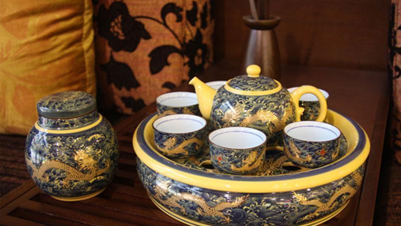 国瓷永丰源黄帝龙十二件套功夫茶具