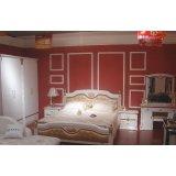 双虎整体卧室(床架+衣柜+床头柜+妆台)B805/B806
