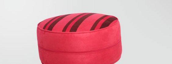 麦斯得尔小组件系列托比圆墩r01红色条纹r01